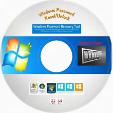 Windows Password Reset Recovery Unlock 2018 on DVD for Windows 10, 8.1, 8, 7, XP