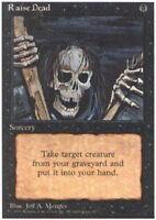 4x Raise Dead MTG 4th Edition NM Magic Regular