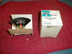 NOS MOPAR 1967-68-69-70-71 A BODY RALLYE AMMETER GAUGE DART CUDA DUSTER