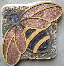 New listing Bee 1, Stepping Stone, Plaque, Concrete Mold, plastic mold, cement, plaster