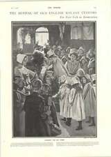 1902 Crowning The May Queen Guild Of Brave Poor Things Bermondsey