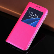 Libro Vista Ventana Funda Cuero Funda Cartera para Samsung Galaxy