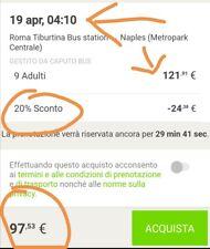 Flixbus 20% Buono Sconto Discount Voucher Coupon rabatt valid till 31/08/2020