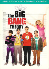The Big Bang Theory The Complete Second Season DVD 4-Disc Box Set with Slipcover
