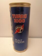 16oz TURBO 1000 MALT LIQUOR ALUMINUM STAY TAB BEER CAN  COORS BREWRY GOLDEN, CO.
