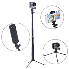 Smatree SmaPole Q3 Telescoping Pole / Selfie Stick with Tripod Stand for GoPro H