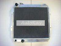 Aluminum Radiator for Toyota Hilux LN85 LN60 LN61 LN65 2.4LTR Diesel 84-91 MT