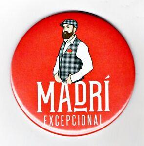 "Madri Jumbo Fridge Magnet Beer Mat Bar Ale  3"" 75mm blade Sub pub lager Spain"