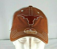 NCAA Texas Longhorns Orange Trucker Baseball Cap Stretch Fit L/XL