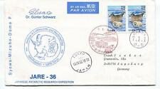 Gunter Schwarz Japanese Antarctic Expedition Tokyo Potsdam Polar Cover SIGNED
