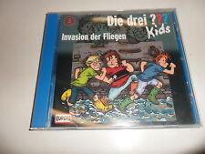 Cd   Die Drei ??? Kids / 003 / Invasion der Fliegen