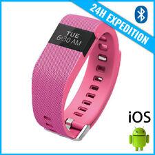 Original TW64 Smart Band Watch Sport Montre Horloge Bluetooth Android iOS Pink