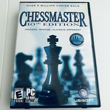 Chessmaster (Chess Master) - 10th Edition (PC CD-ROM) -- Complete w/ CD Key