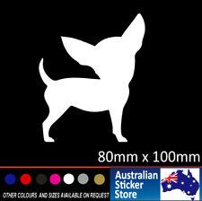 Cute Chihuahua car sticker decal