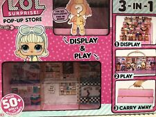 LOL 🎉Surprise Doll 💞Pop Up Store 3 In 1 Play Set Display Case Stand In Hand 🏡