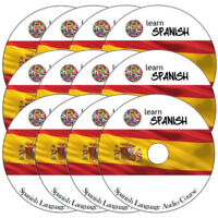 Learn to speak SPANISH Complete Language Training Course on 12 AUDIO CD