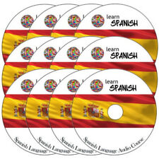 Aprender a hablar español-Completo Idioma Curso de Capacitación en 12 Cds De Audio