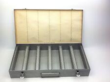 Vintage No. 110 Logan De Luxe 2 x 2 Slide File Holds 150 Slides Great Condition