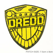 "JUDGE DREDD - ""Judge Dredd's Shield"" 2000AD Large Patch"