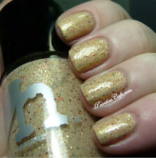NEW! RAINBOW HONEY Indi / Indie Nail Polish in KITSUNE ~ Cream Base Gold Shimmer