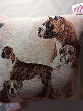Boxer Dog Pillow Afghan Throw Pillow Boxer Dog Pillow