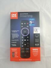One For All Universal Remote Streaming, Control 3 Devices Stream Box, Tv, Audio
