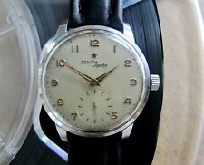 Zenith Sporto Vintage 1955 Mechanical Hand-Winding Men's Watch 126-6 caliber