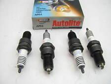 (4) Autolite AP64 Ignition Spark Plugs - Platnium