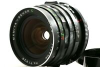 """MINT+"" MAMIYA SEKOR C 50mm F4.5 1:4.5 Wide Angle Lens For RB67 Pro S Japan"