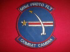 Vietnam War Patch US Military 601st PHOTO FLIGHT Combat Camera Team