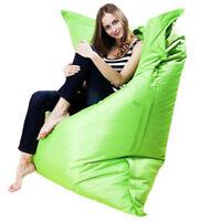 Giant Beanbag Cushion Pillow Indoor Outdoor Relax Gaming Gamer Bean Bag portable