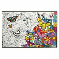 Kids Large Giant Colouring Poster Butterfly Kids Art & Craft - Melissa & Doug