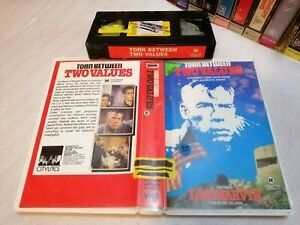 TORN BETWEEN TWO VALUES (1968) - Rare Oz/Nz City Lites 1st/Only Vhs Issue DRAMA!