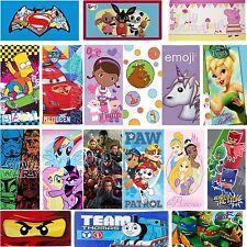 New Kids Cartoon Character 100% Cotton Beach Bath Towels Disney Kids Towels
