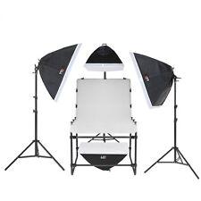 Aufnahmetisch-Set AT-6090-4, 16x150 W mit Galgen & Tasche Fototisch Studiotisch