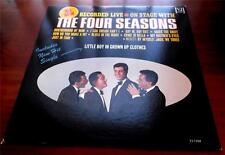 The Four Seasons  Recorded Live On Stage  1965   VeeJay 1154   Mono  VG+