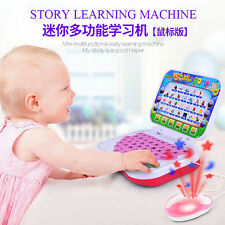 Baby Multifunctional Early Learning Educational Computer Toys for Kids Boys LE