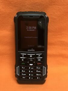 VERIZON, SONIM XP5 XP5700 RUGGED SMARTHPHONE PTT WiFi 4G LTE BLACK SCORCHING