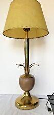 Mid Century Sputnik Style Atomic Space Age Brass Table Lamp Brass