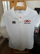 ENGLAND   TOUCH FOOTBALL  TAGGED   POLO  SHIRT   SIZE  LADIES 14