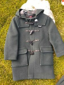 Gloverall Green Hooded Duffle coat - Boy or Girl Aged 4
