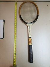 Vintage Spalding Poncho Gonzales Signature Wooden Tennis Racket Racquet racket