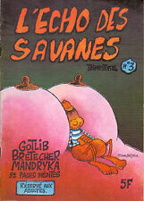 REVUE L'ECHO DES SAVANES N°3 AVRIL 1973