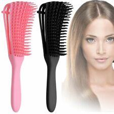 Curly Natural Hair Hair Combing Brush Anti-Static Detangling Brush - Salon Home