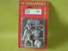 WARHAMMER / AOS VAMPIRE COUNTS ARMY - NECRARCH MOUNTED VAMPIRE IN BLISTER OOP