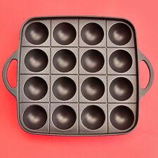 Iwatani TAKOYAKI poêle plaque grill 16 trous gaz aluminium boule poulpe CB-P-TAF