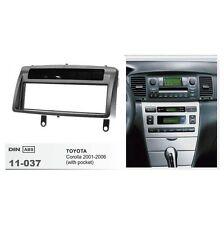 Dash Stereo Fascia For TOYOTA Corolla 2001-2006 Panel 1 Din Mount Trim Kit Frame
