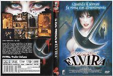 LA CASA STREGATA DI ELVIRA (2001) dvd ex noleggio
