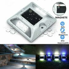 SOLMORE Path Licht Solar 6-LED Temperatur Magnetron Aluminium Decken Garten Rase