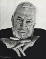 1987 John Huston By Herb Ritts Movie Director Actor Vintage Photo Gravure 16x20